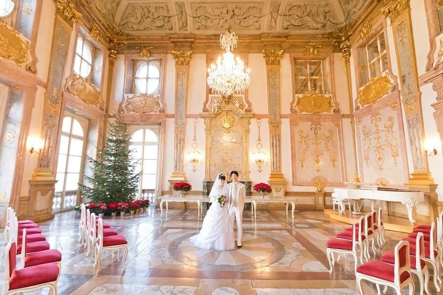 絢爛豪華なミラベル宮殿挙式とクリスマス・シーズンを思う存分、満喫しました!!