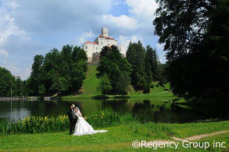 湖と森に囲まれたクロアチアのトラコシチャン城! 愛らしいお城でヨーロッパ挙式を