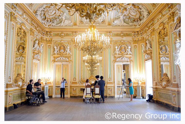 マルタ挙式は宮殿の豪華な雰囲気のなかで!