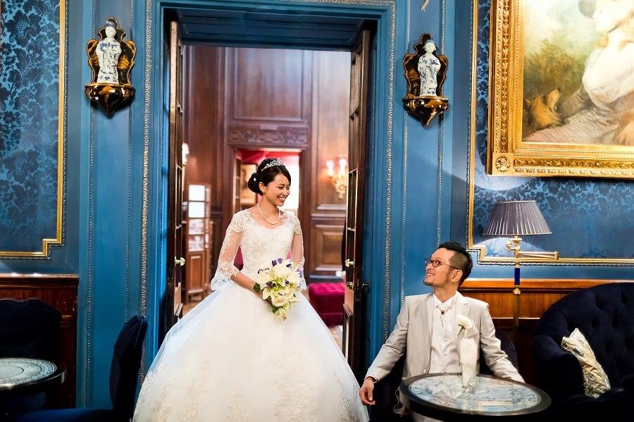 マリア・テレジア生誕300年の記念すべき年にシェーンブルン宮殿で挙式!!