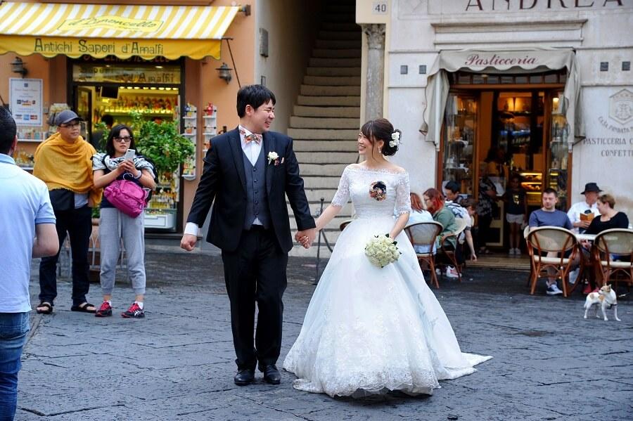 リージェンシーだから叶った!人生最高のアマルフィ挙式とイタリアの旅!!