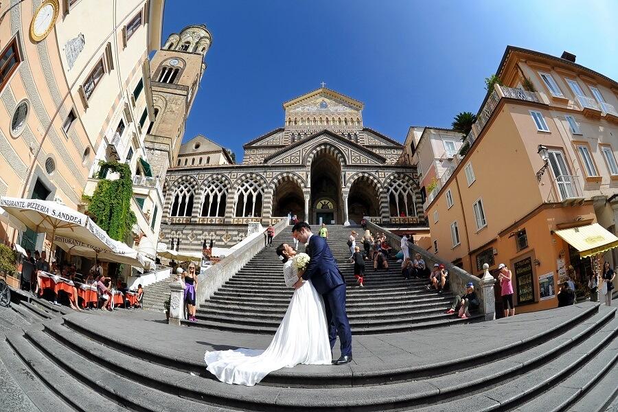 イタリア大好き!アマルフィ挙式が私達の幸せな運命を導いてくれました!!