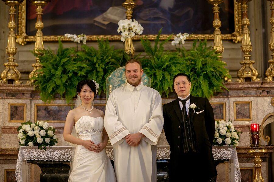荘厳なオラトリオ教会で挙式、個人旅行ならではのハネムーン、全て大満足です!!
