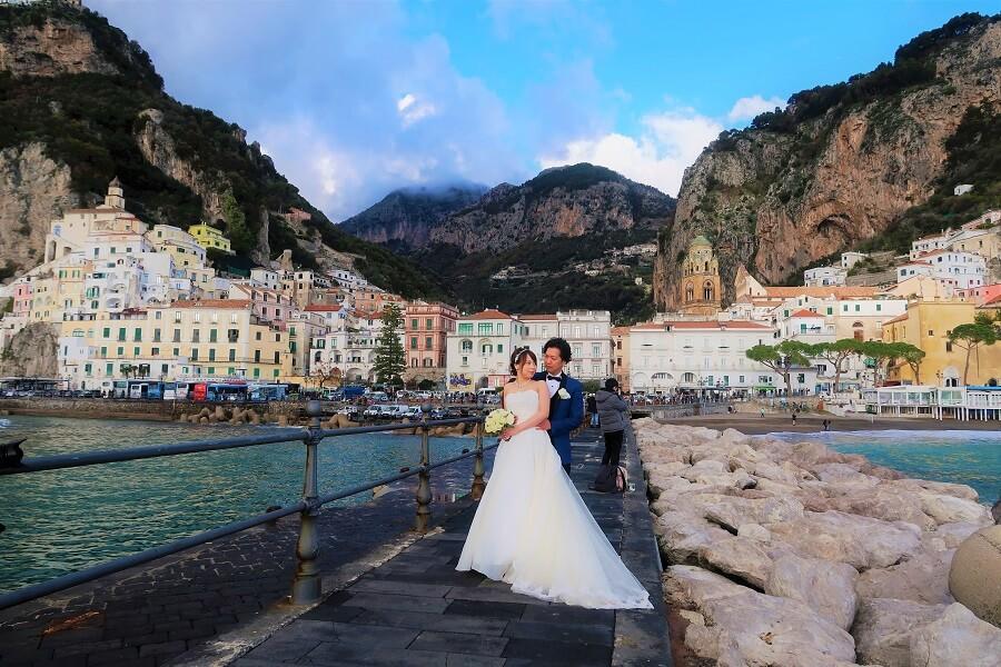 地上の楽園アマルフィ!冬のイタリアでも完璧な結婚式ができました!!