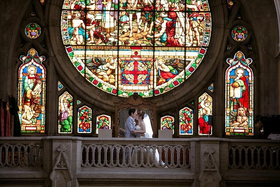 北海道からフィレンツェへ。憧れのセント・ジェームス教会で挙式を実現!!