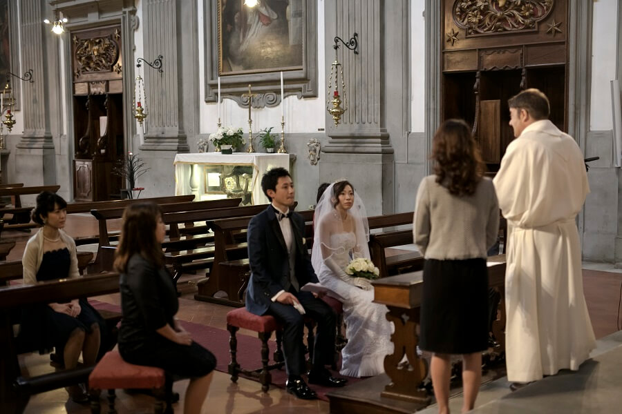 初めてのイタリア。家族と共に全てを謳歌したハネムーンとフィレンツェ挙式!!