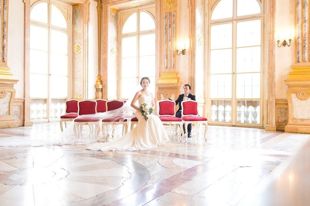世界で一番美しい婚姻の間で!!