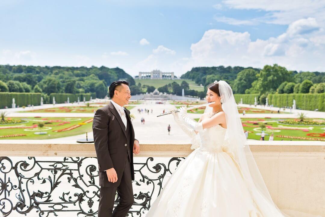 憧れのウィーンで結婚式がしたい!
