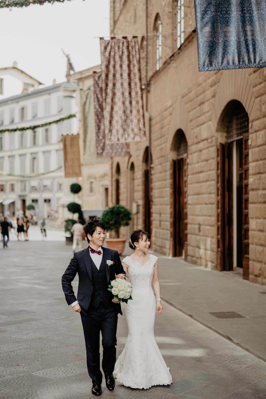 趣のある本物の教会で式を挙げたい!!イタリアが大好きになりました。