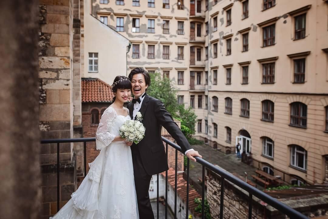 """聖ヴァーツラフ教会。結婚式は行うべき!と実感。長い人生の新たな""""幸せの道""""として。"""